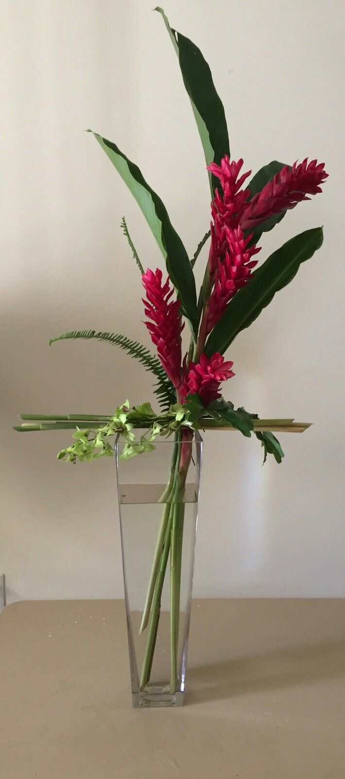 Tropical Flower Arrangements Ikebana Flower Arrangement Tropical