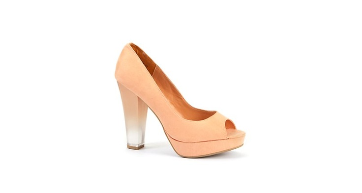 Perspex heels