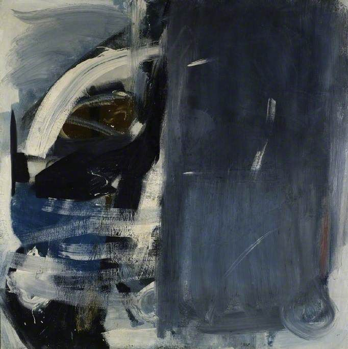 Peter Lanyon Shy Deep 1959 Oil on canvas, 152.9 x 152.8 cm