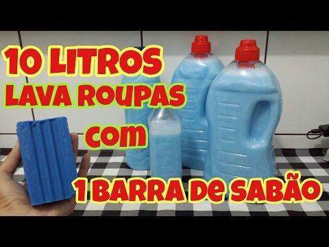 Conheça o sabão líquido caseiro que rende 12 litros