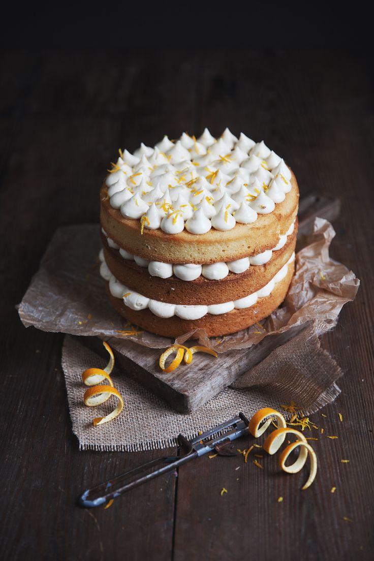 Orangen-Karamell-Torte