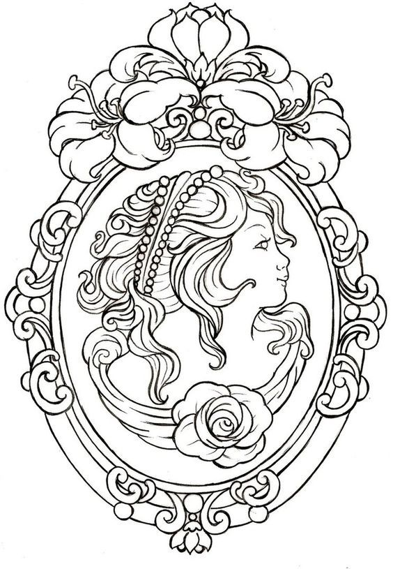 Cameo Tattoo by ~Metacharis on deviantART