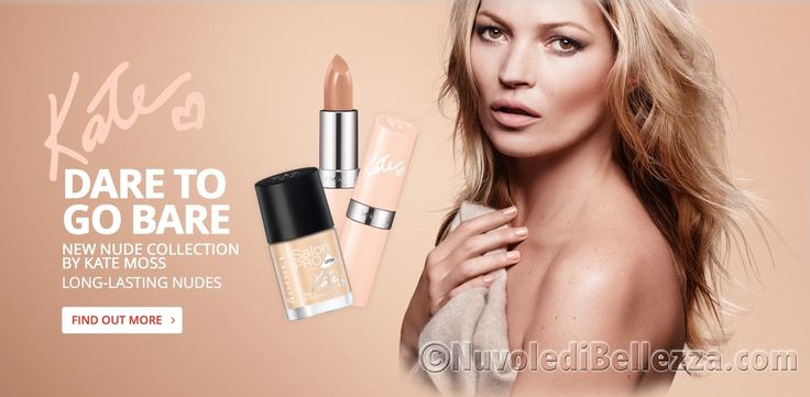Rimmel Nude Collection by Kate Moss Swatches e Foto - Nuvole di Bellezza