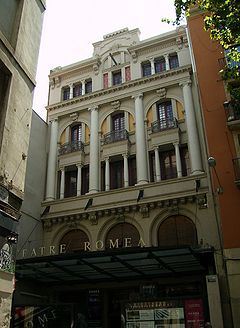BARCELONA CAPITAL, Teatro Romea