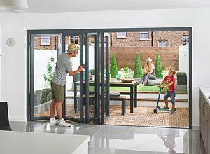 External Bifold Doors & Bifolding Folding Sliding Doors | Vufold