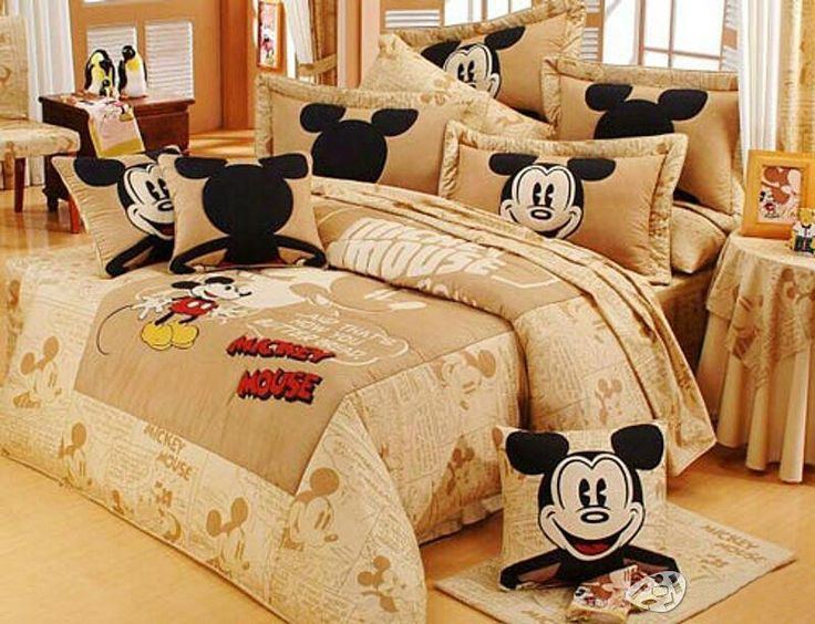 Mickey Mouse Bedroom Decor!