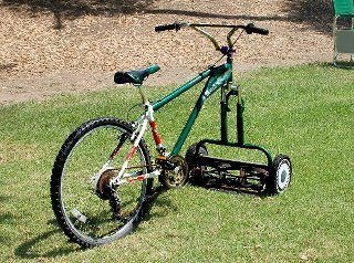 Tom needs a new lawn mower. I think I'll get him this one.