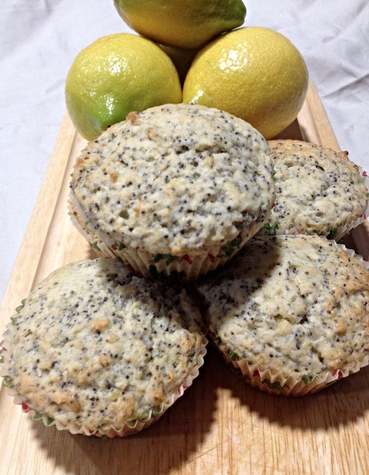 Muffins de Limón y Amapolas