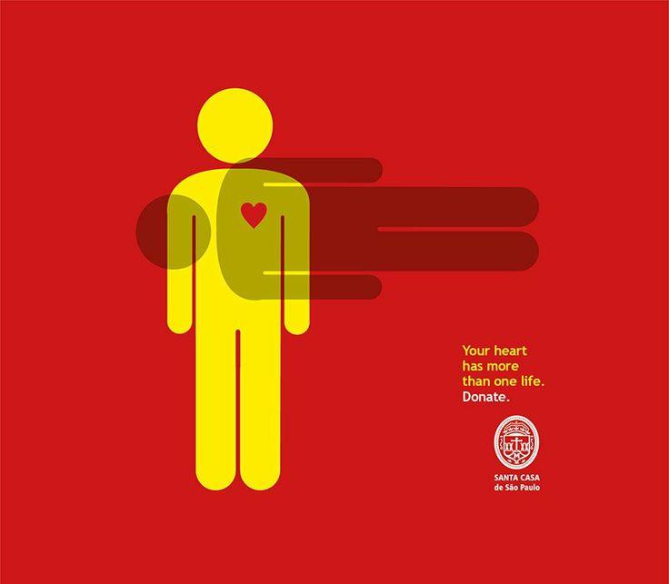 Pessoas sobrepostas mostram a importância da doação de órgãos - Adnews - Movido pela Notícia