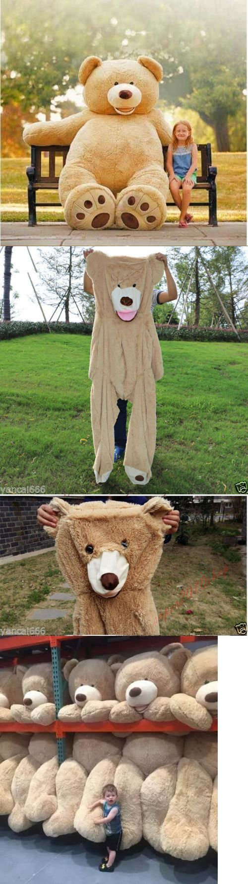 Toys for Baby 19068: 80Cm-340Cm Giant Teddy Bear Toy American Bear Cover With Zipper Plush Soft Gift -> BUY IT NOW ONLY: $111.99 on eBay!