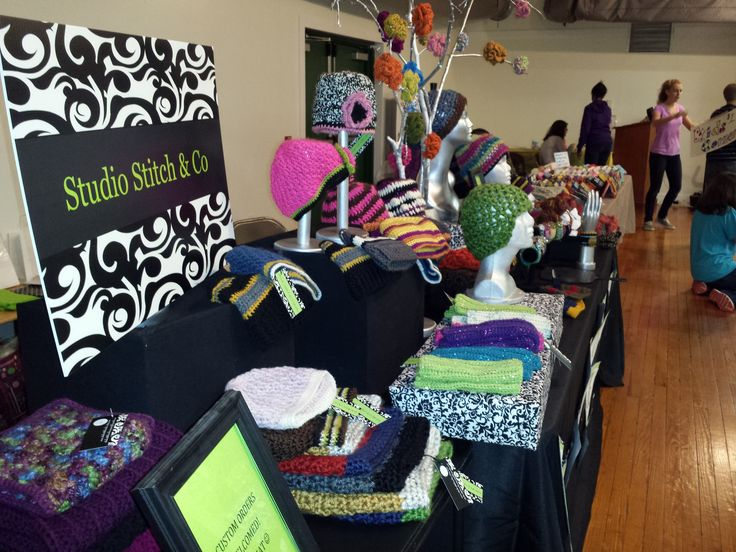 78 best images about crochet craft show ideas on pinterest for Hat display ideas for craft shows