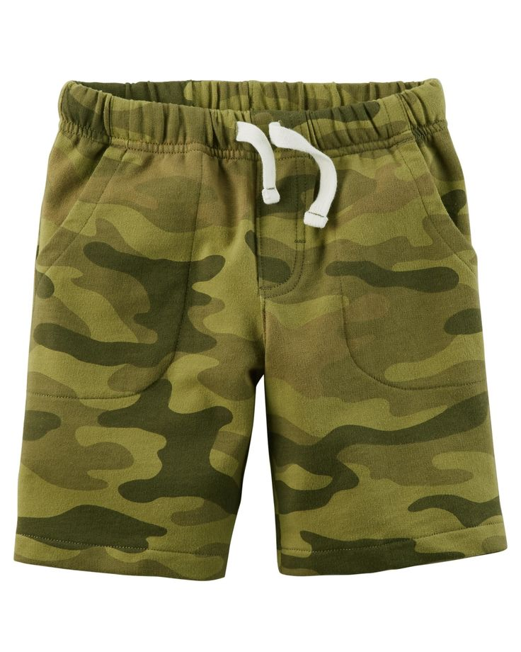 Baby Boy Easy Pull-On French Terry Shorts | Carters.com