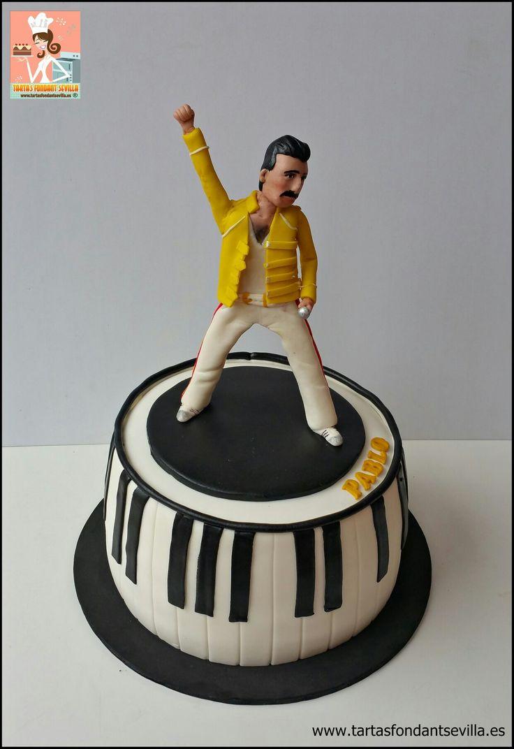 Tarta Freddie Mercury