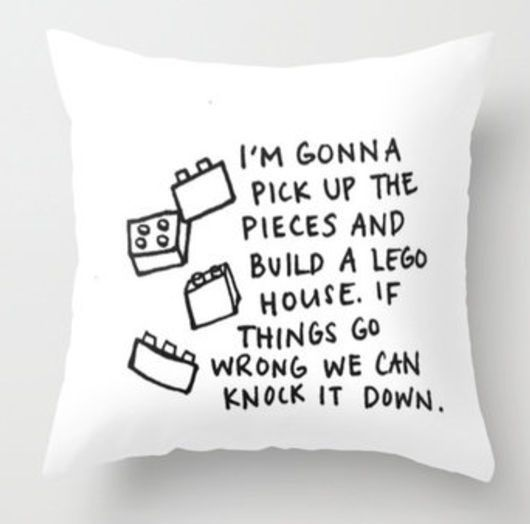 Image result for lets build a house of lego quotes