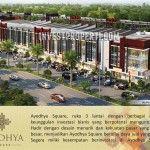 Ayodhya Square Shop Lot. Ruko Kota Ayodhya Tangerang.
