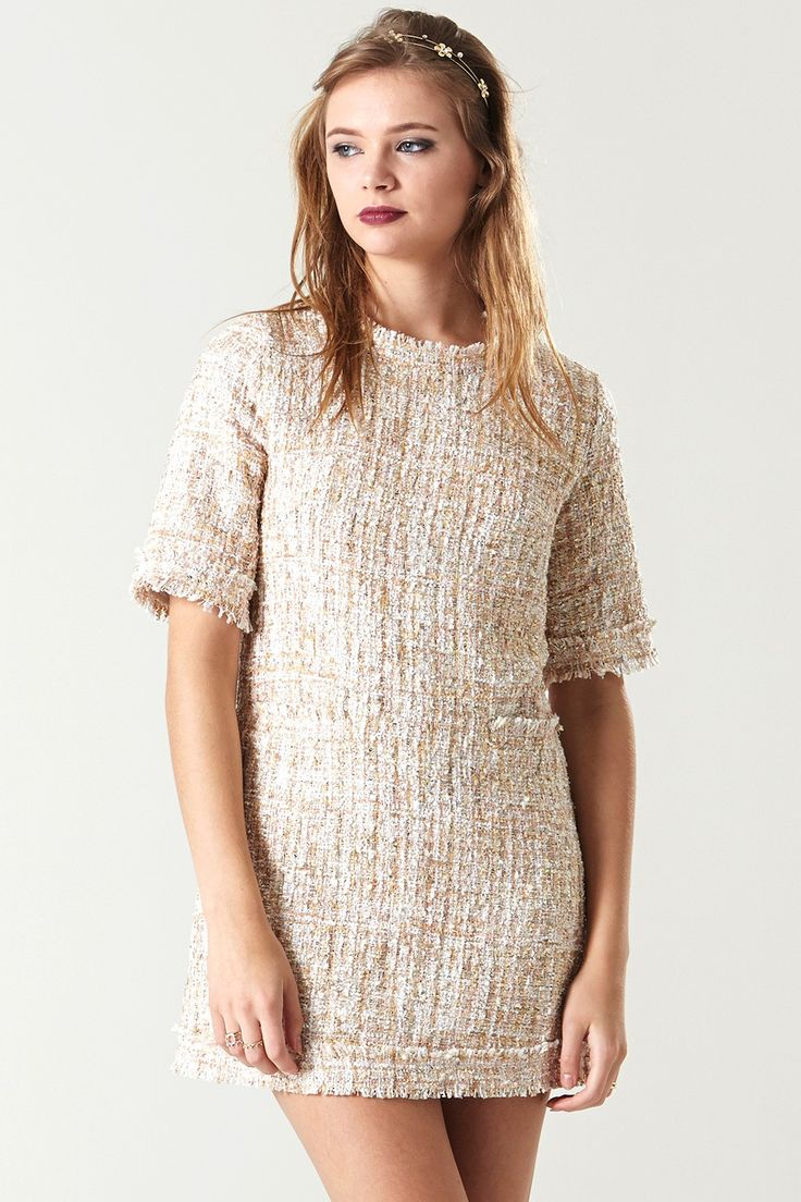 Maxi dress short sleeve angora