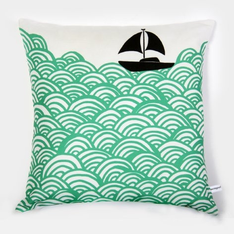Sea PillowBigger Boats, The Ocean, Boats Throw, Cushions Covers, Throw Pillows, Prints, Products, The Waves, Design