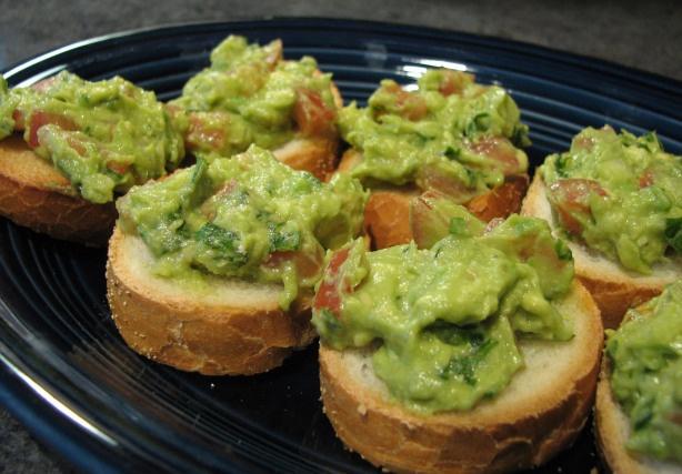 Guacamole Bruschetta | Food and Drinks ... | Pinterest
