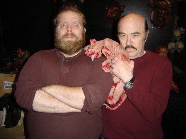 Scott with the legendary Reggie Bannister of Phantasm fame!
