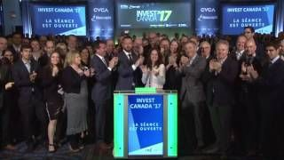 Canadian Venture Capital and Private Equity Association opens Toronto Stock Exchange June 7 2017