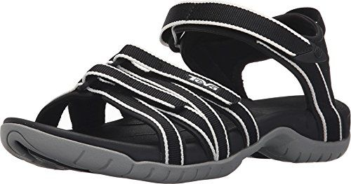 Teva Womens W Tirra Sandal BlackWhite 85 M US *** You can get more details by clicking on the image.(This is an Amazon affiliate link and I receive a commission for the sales)