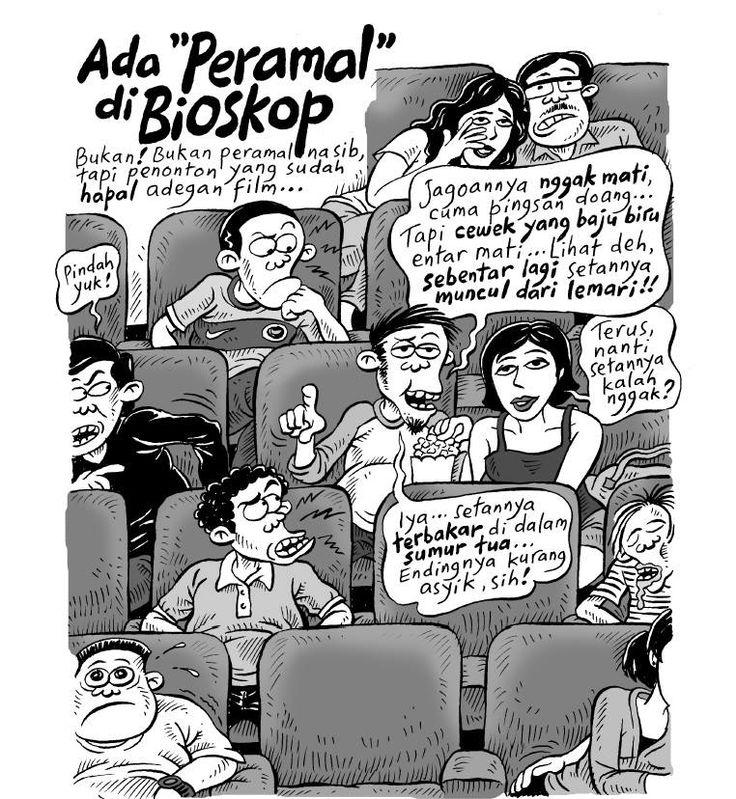 Kartun Benny, 100 Peristiwa: Peramal Di Bioskop
