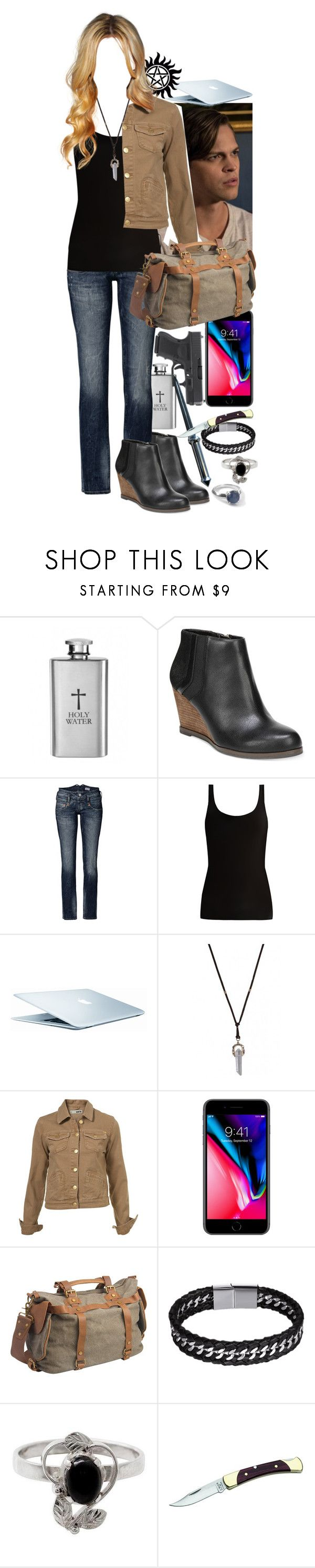 """Supernatural Young hunter dating Jack"" by werewolf-gurl ❤ liked on Polyvore featuring Dr. Scholl's, Herrlicher, Skin, Vagabond Traveler, NOVICA and Ippolita"