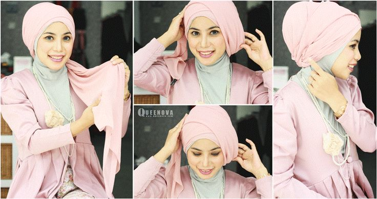 Queenova: Hijab / jilbab Tutorial : Layering Turban    I like this turban style, but maybe I will put another pashmina too cover my chest :)