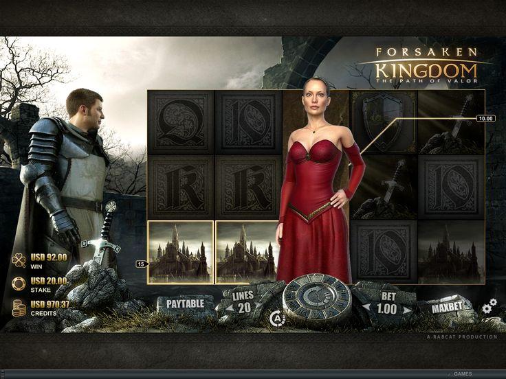 Forsaken Kingdom Online Slot Game - play now at www.europalace-casino.com