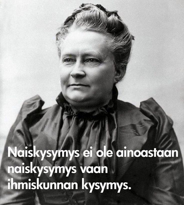 #minnacanth #minnacanthinpäivä #tasaarvonpäivä #tasaarvo #feminism