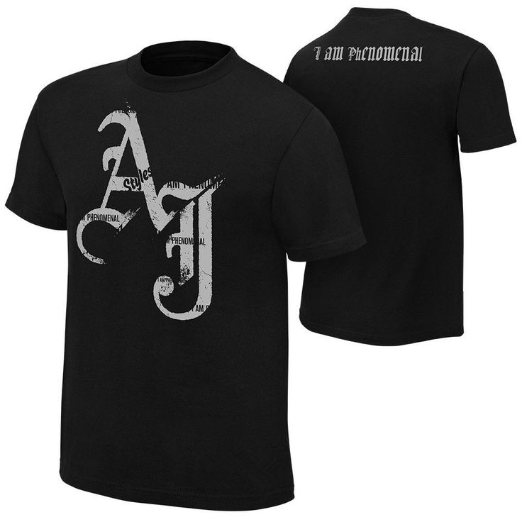AJ Styles I Am Phenomenal Mens Black T-Shirt T Shirt Shirts tshirt Adult - http://bestsellerlist.co.uk/aj-styles-i-am-phenomenal-mens-black-t-shirt-t-shirt-shirts-tshirt-adult/