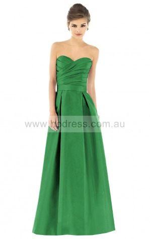 Sleeveless Zipper Sweetheart Floor-length Taffeta Evening Dresses esfa307194--Hodress