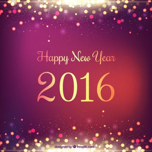 Fundo do ano novo e brilhante na cor roxa Vetor grátis