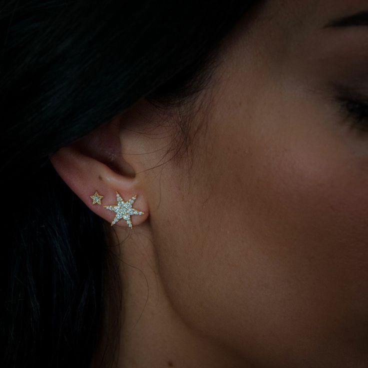 Mini Anahata Diamond Earrings By Zoe and Morgan $1181 NZD