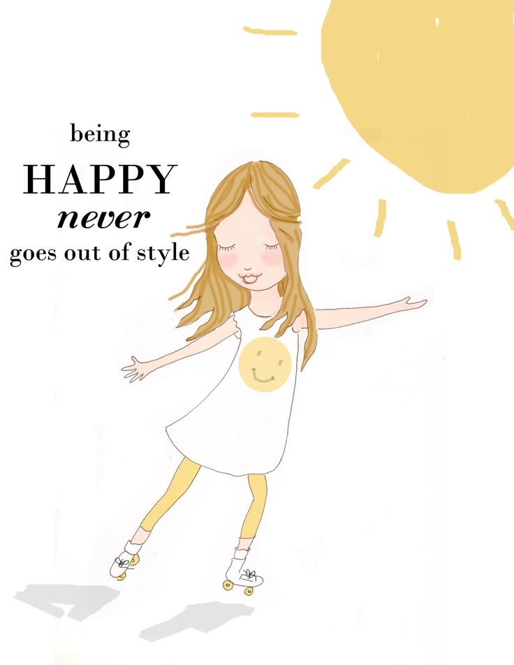 ☀️☀️☀️ Being happy never goes out of style. #sayings #quotes