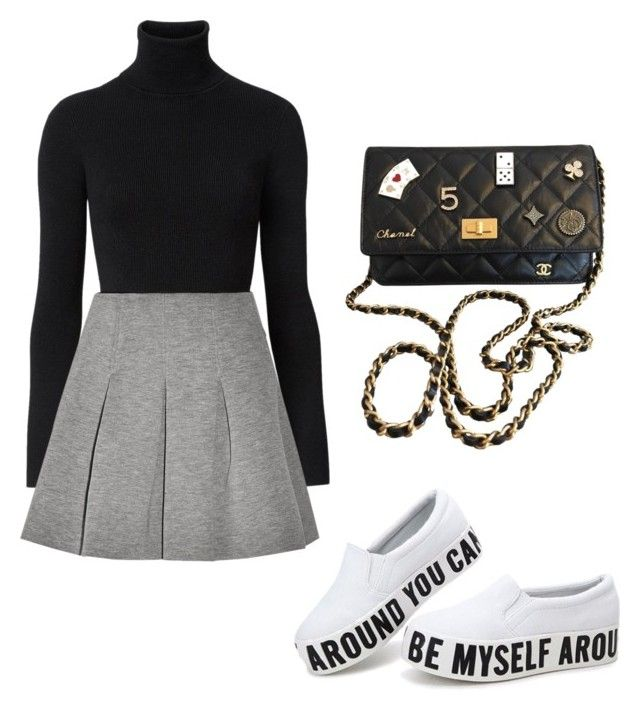 """"" by alejandra-vega-1 on Polyvore featuring moda, Witchery, T By Alexander Wang y Chanel"