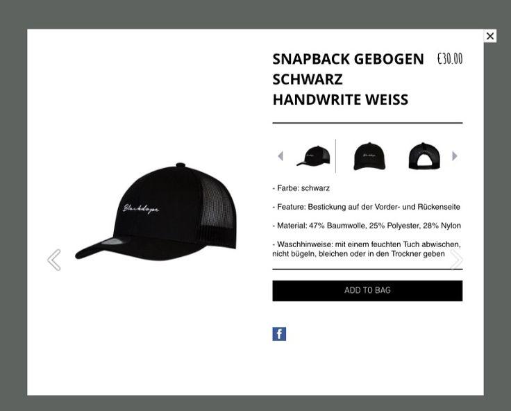 Blackdope hat