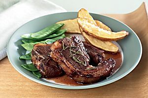 Marinated forequarter lamb chops Recipe - Taste.com.au Mobile