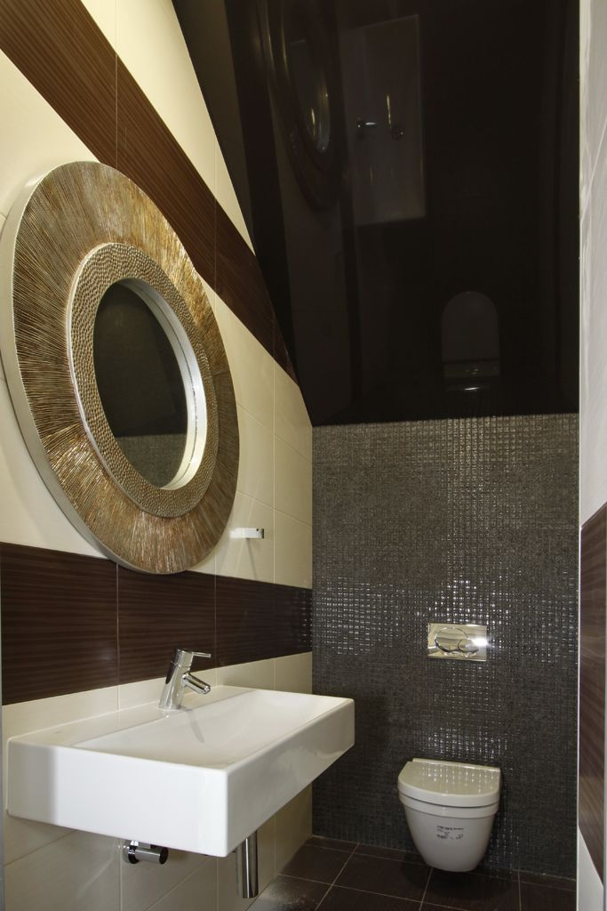 Stretch ceilings in the bathroom the ideal choice photo 01