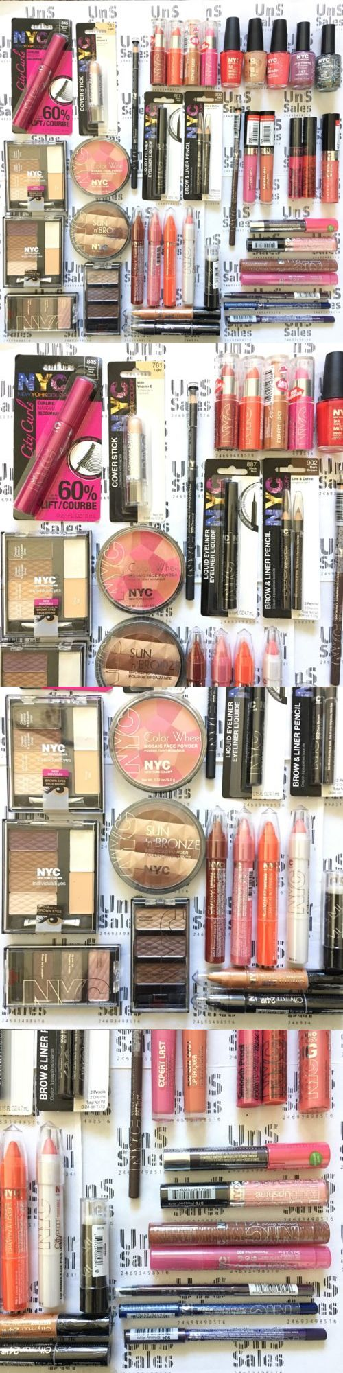 Mixed Makeup Lots: New York Color Nyc Lot Of 40 L1 Makeup Wholesale Cosmetics L.1 BUY IT NOW ONLY: $42.24