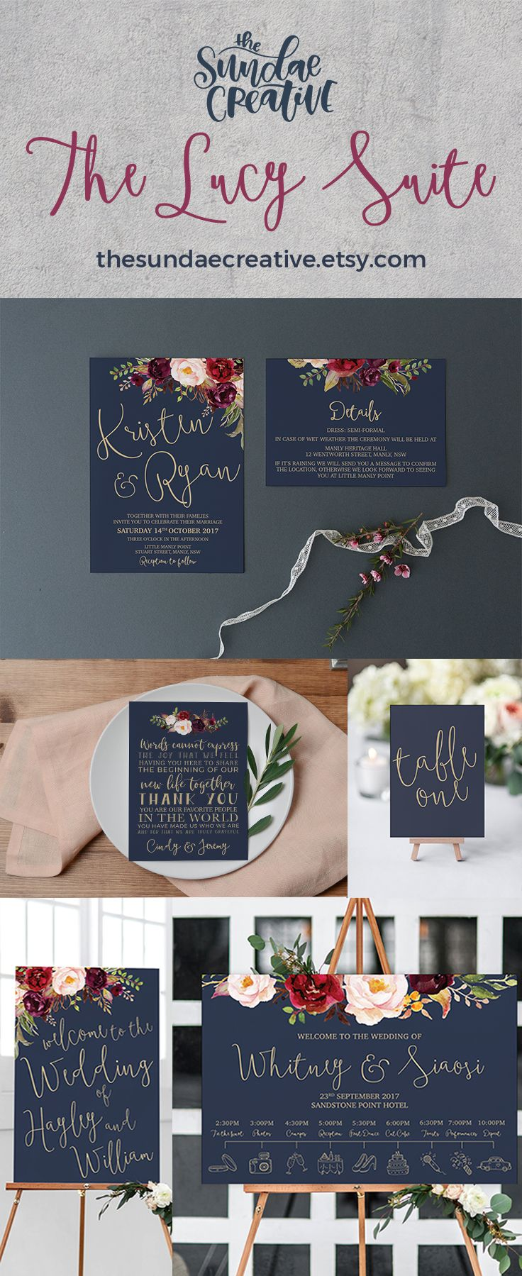 40 Best Wedding Stationery The Sundae Creative Images By The