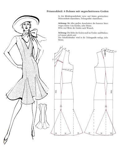 Systemschnitt 01 - elisa - Picasa Web Albums skirt dress godot kil flare