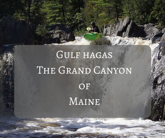 Located in Katahdin Iron Works Park State Park, Gulf Hagas is a gorge carved out by the Western Branch of the Pleasant River. The area spans three miles and features incredible vertical slate walls, creating lots of waterfalls along the way.