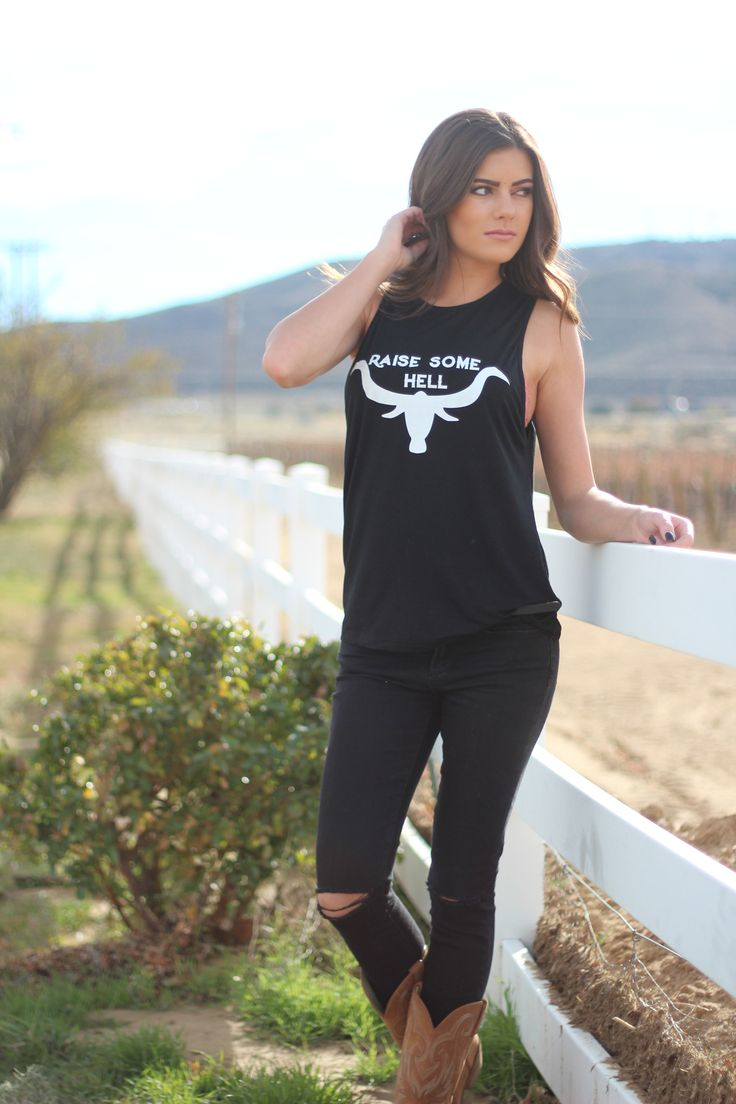 As Seen On – License to Boot Miranda Lambert in the Raise Some Hell Tank www.licensetoboot.com