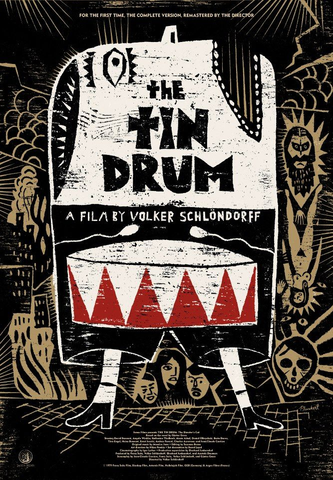 David PlunkertFilm, Bluray, David Plunkert, Movie, Criterion Collection, Tins Drums, Book Covers, Tindrum, Posters