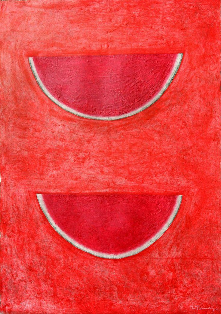 Rufino Tamayo (1899-1991) Sandias (Watermelons)  http://www.denisbloch.com/object.php?id=1257