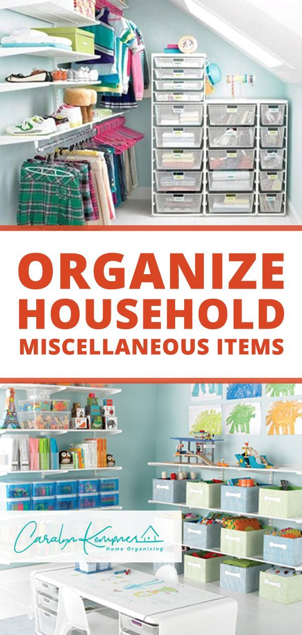 Organize Household Miscellaneous Items Household Organization Diy Home Decor On A Budget Bedroom Organization Diy