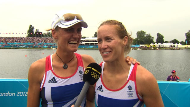 BBC Sport - Olympics rowing: Glover & Stanning win Gold for Britain! #Olympics #TeamGB #london2012
