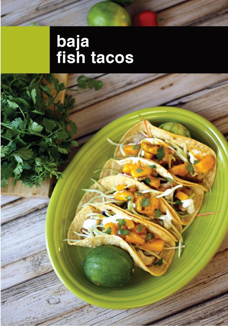 Great Baja Fish Tacos!
