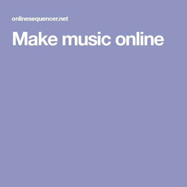 Make music online